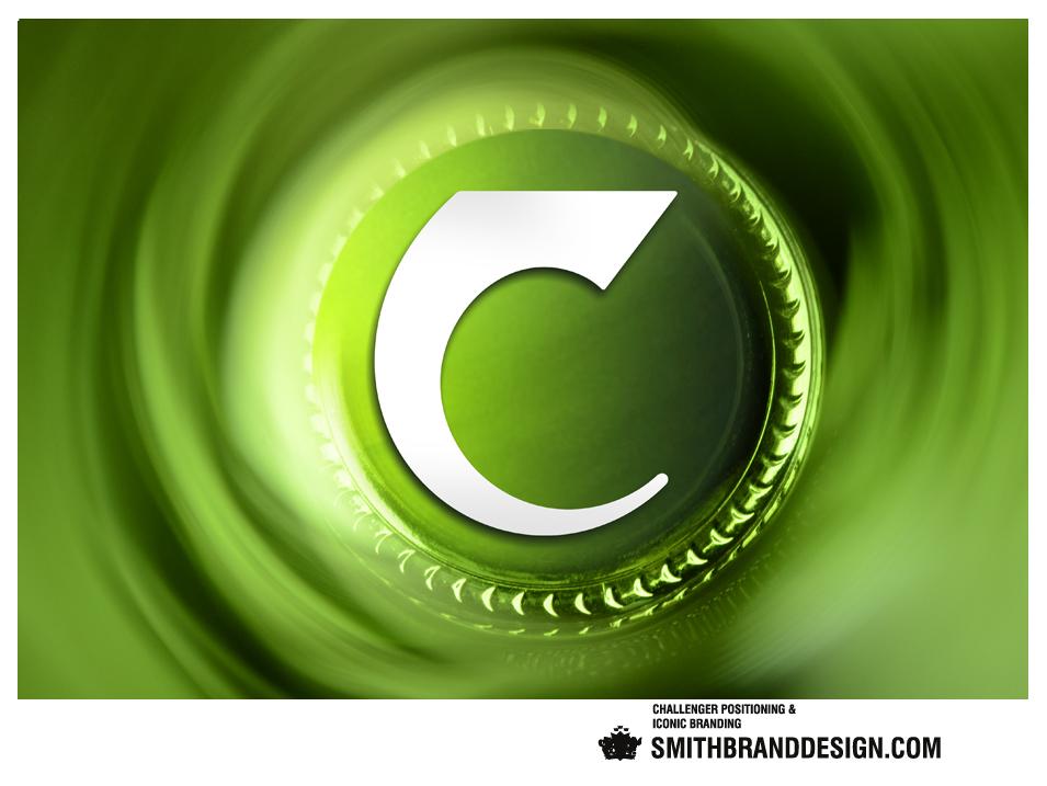 SmithBrandDesign.com Carlsberg closeup