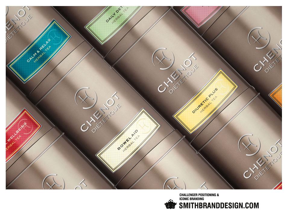 SmithBrandDesign.com Chenot Diététique Herbal Teas Close Up