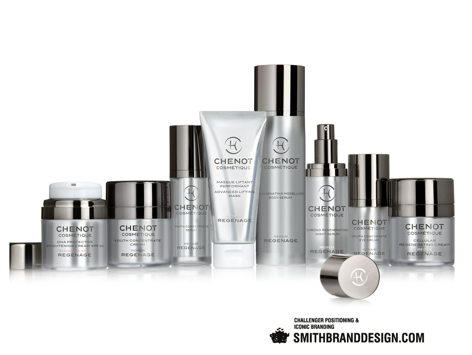 SmithBrandDesign.com Chenot Regenage Line
