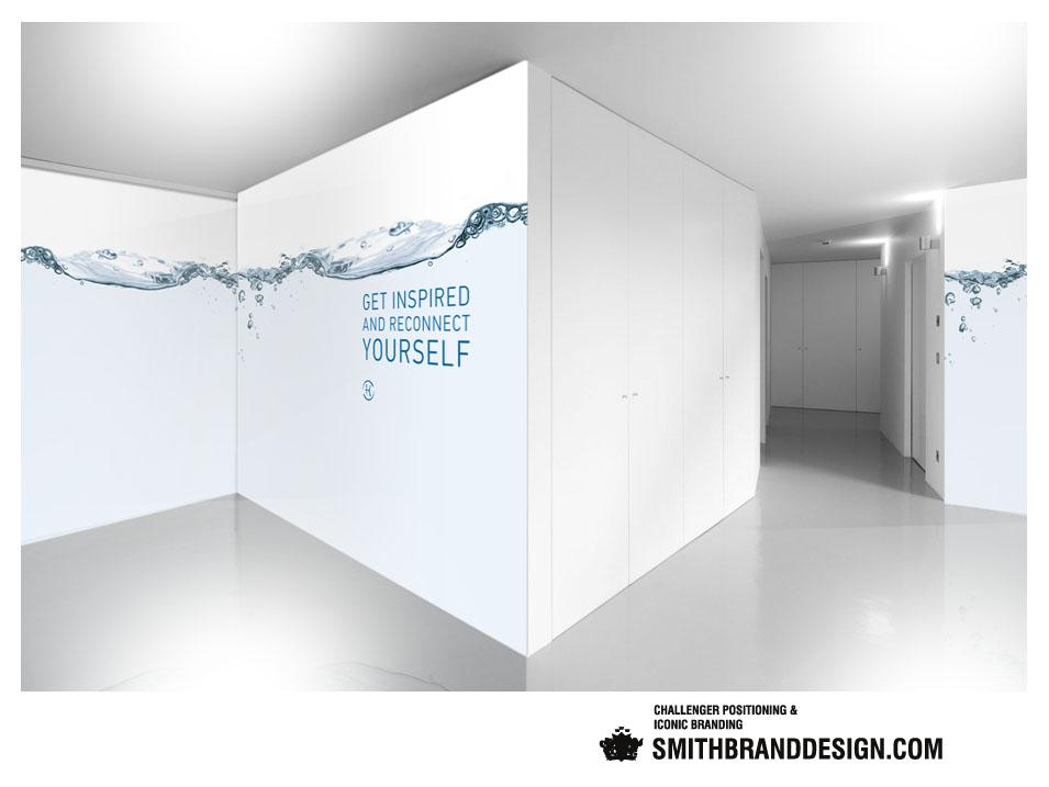 SmithBrandDesign.com Espace Privé Chenot Spa Level
