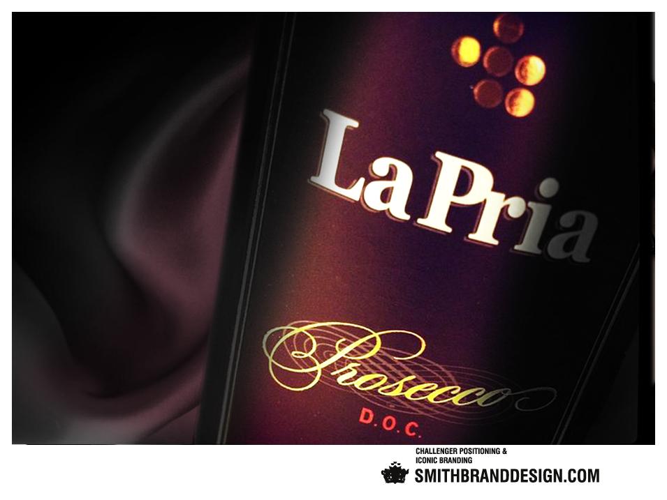 SmithBrandDesign.com La Pria closeup