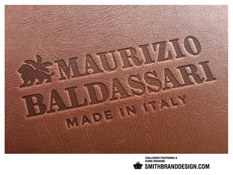 SmithBrandDesign.com Maurizio Baldassari Leather Stamping