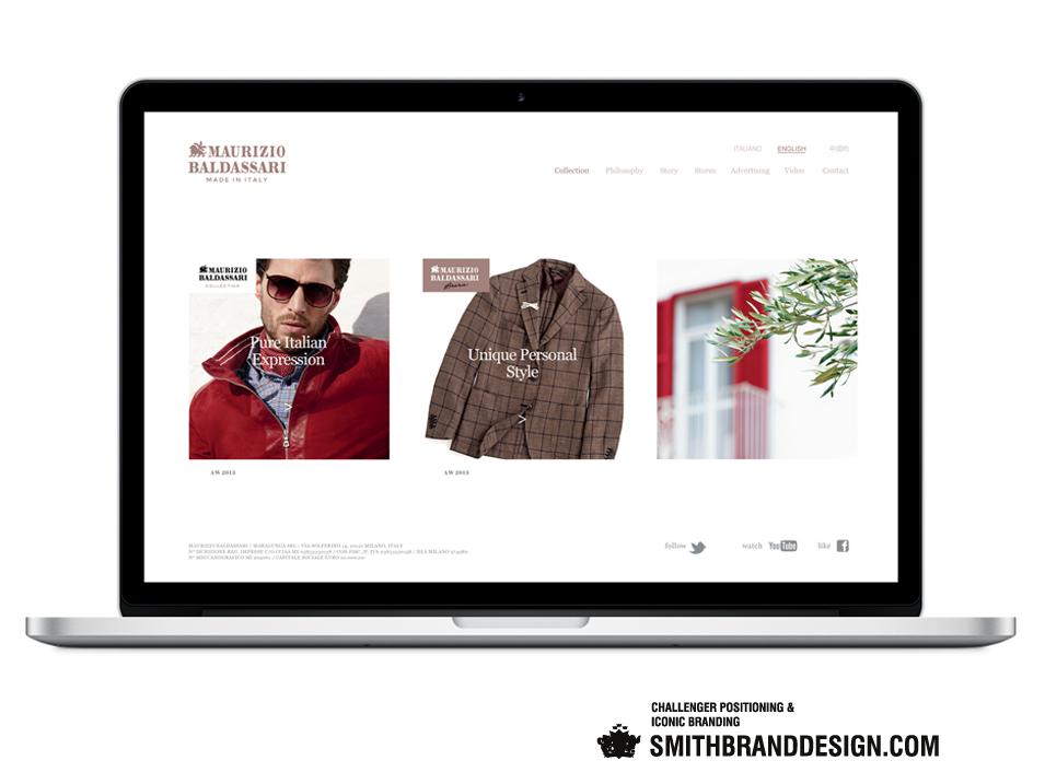 SmithBrandDesign.com Maurizio Baldassari Website