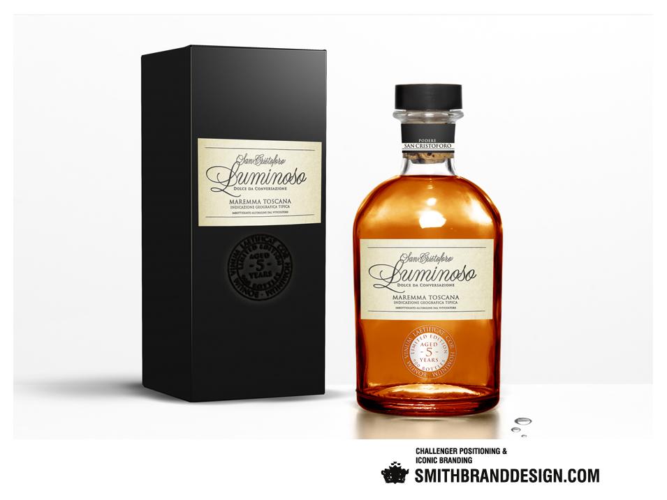 SmithBrandDesign.com San Cristoforo Luminoso Package