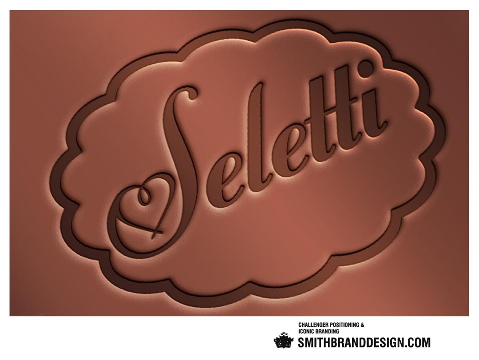 SmithBrandDesign.com Seletti Brand Mark Chocolate