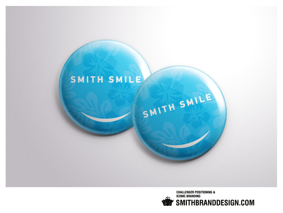 SmithBrandDesign.com Smith Smile Buttons