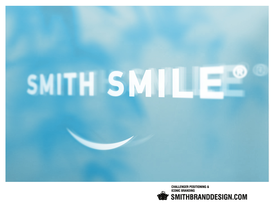SmithBrandDesign.com Smith Smile Door Branding