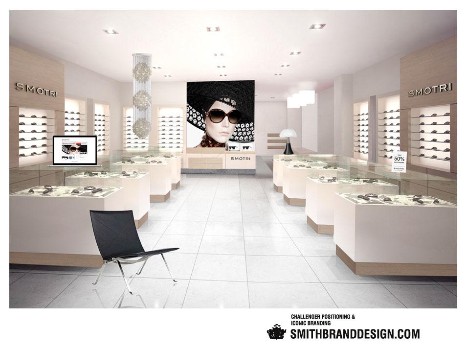 SmithBrandDesign.com Smotri Retail Space Inside