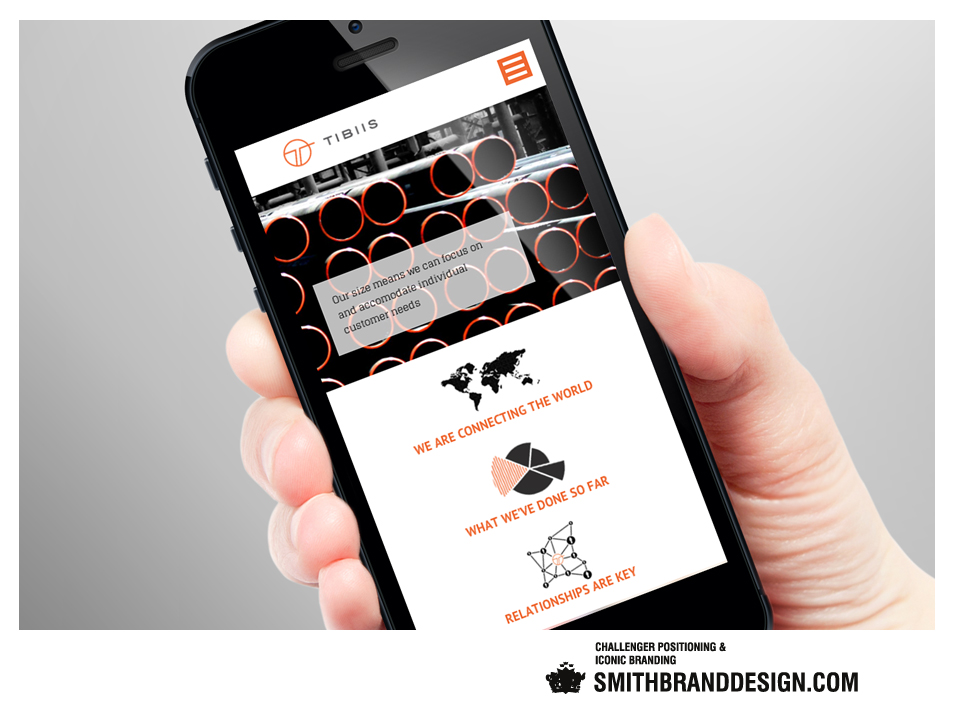 SmithBrandDesign.com Tibiis Digital Smartphone