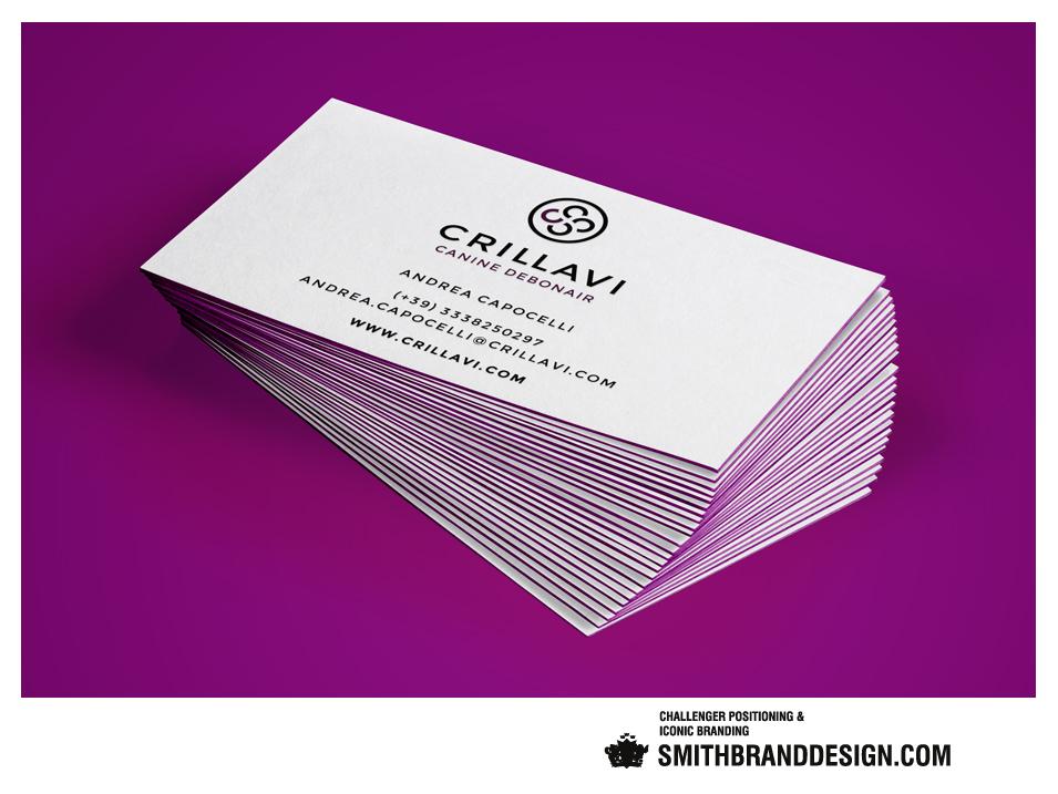 SmithBrandDesign.comCrillavi Business Cards