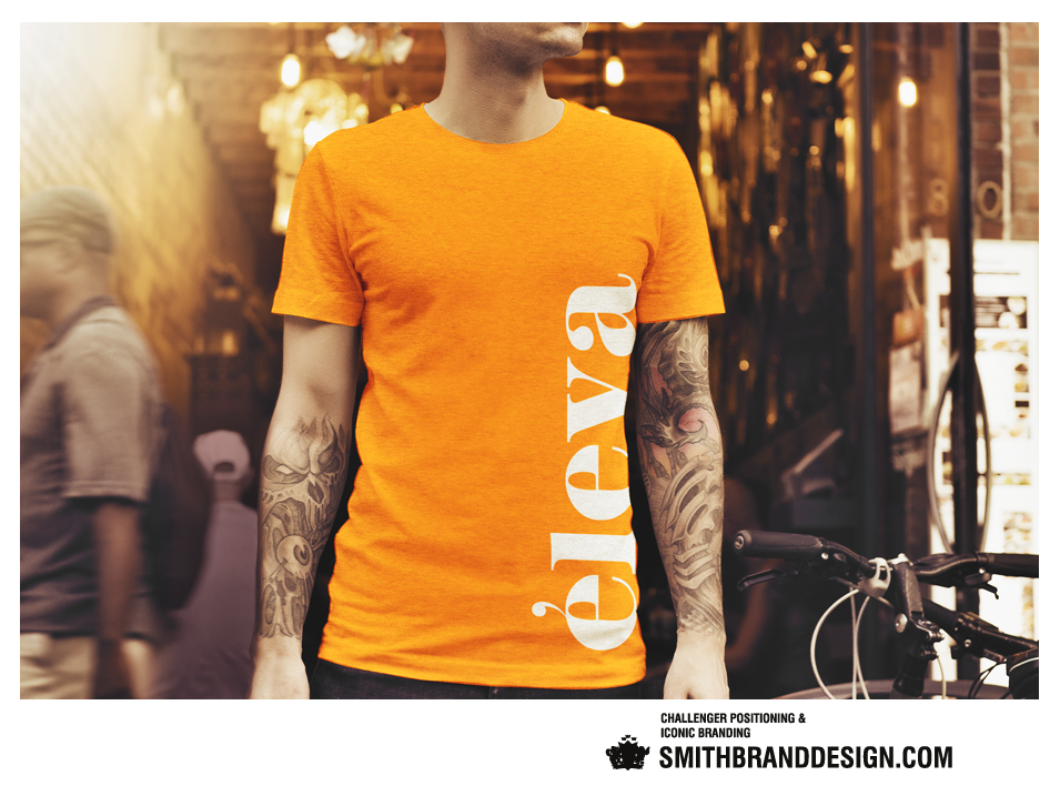 SmithBrandDesign.com Éleva T-shirt