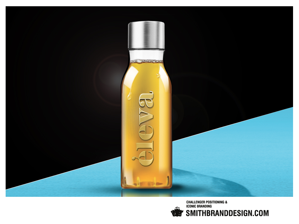 SmithBrandDesign.com Éleva bottle