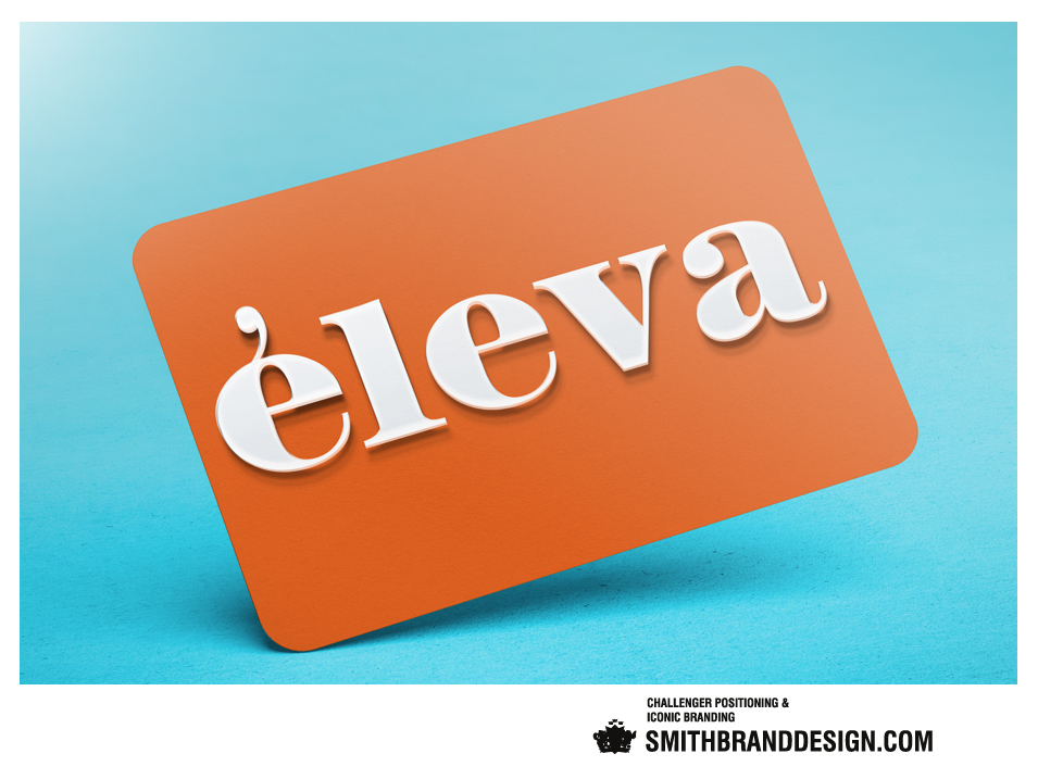 SmithBrandDesign.com Éleva business card
