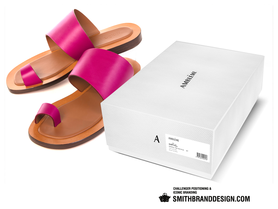 SmithBrandDesign.com Amblême shoe box