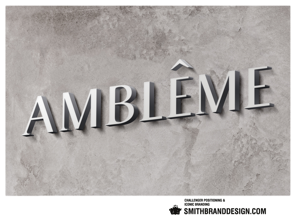 SmithBrandDesign.com Amblême wall brand