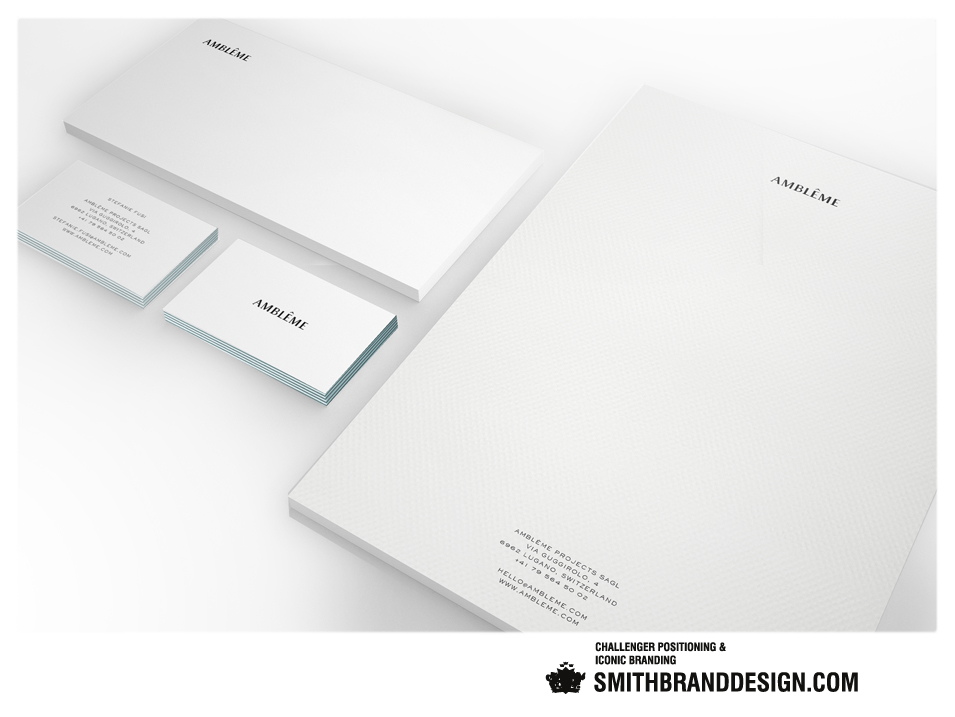 SmithBrandDesign.com Amlême stationery