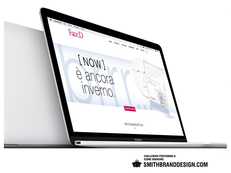 SmithBrandDesign.com Face-D website