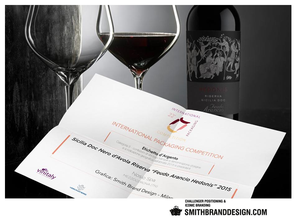 SmithBrandDesign.com Hedonis Vinitaly