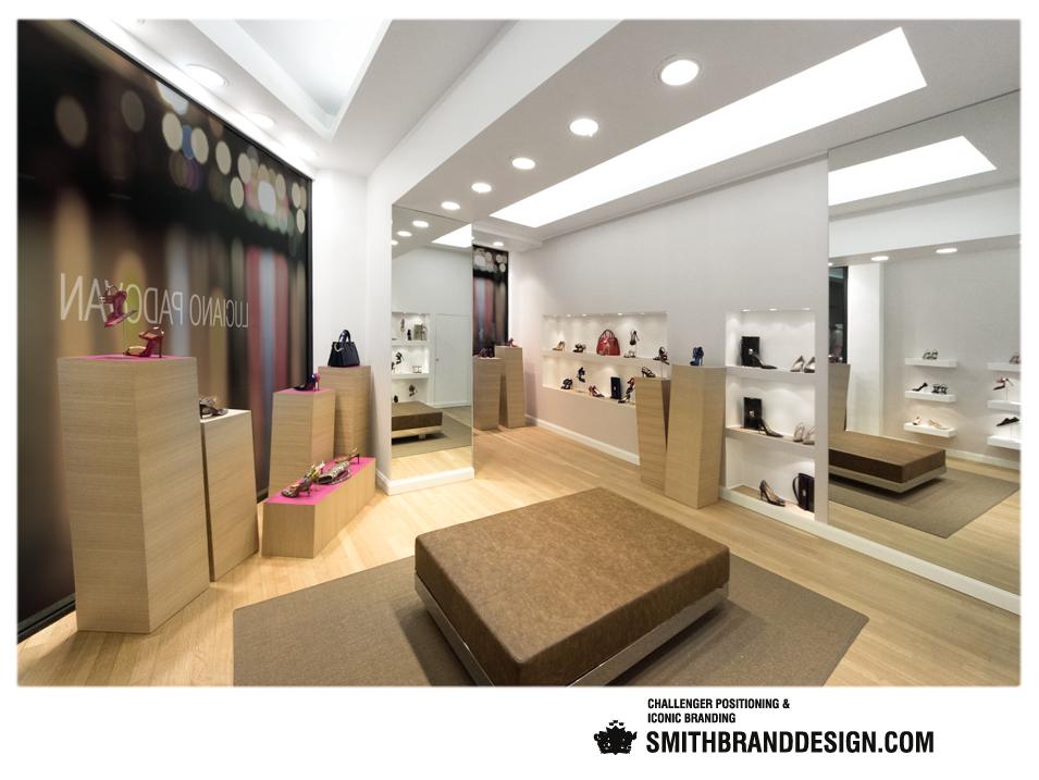 SmithBrandDesign.com Luciano Padova Boutique 1
