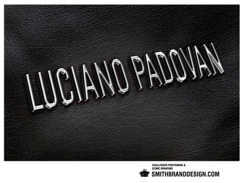 SmithBrandDesign.com Luciano Padovan Silver Logo