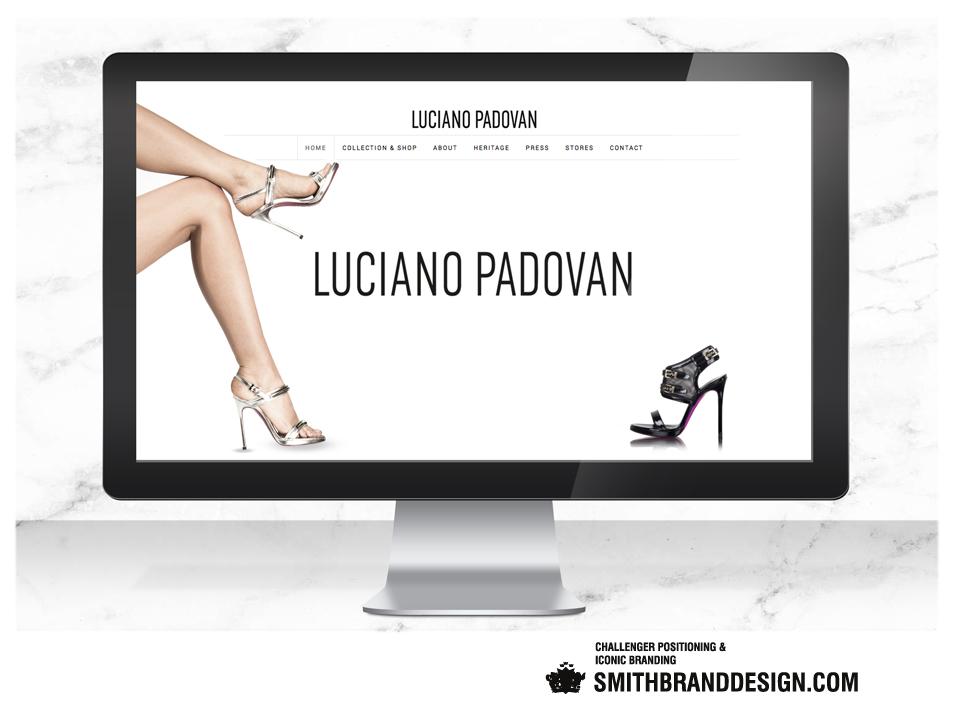 SmithBrandDesign.com Luciano Padovan Website Homepage