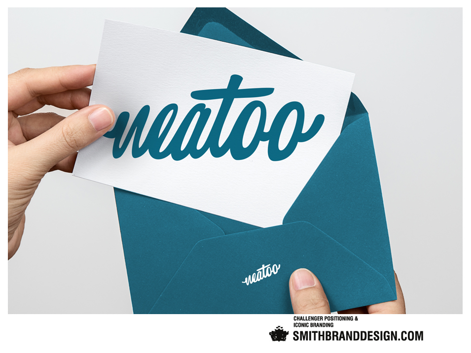SmithBrandDesign.com Neatoo compliments card